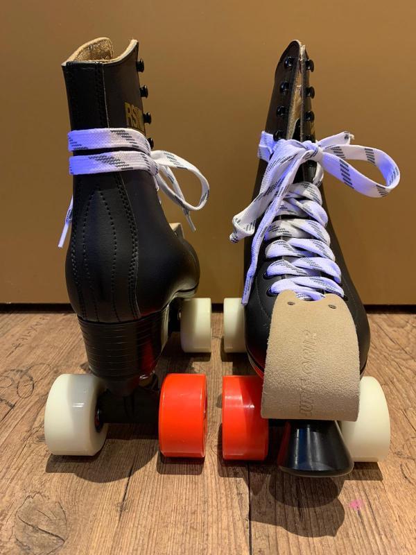 Zwarte lederen RSI Skates 1