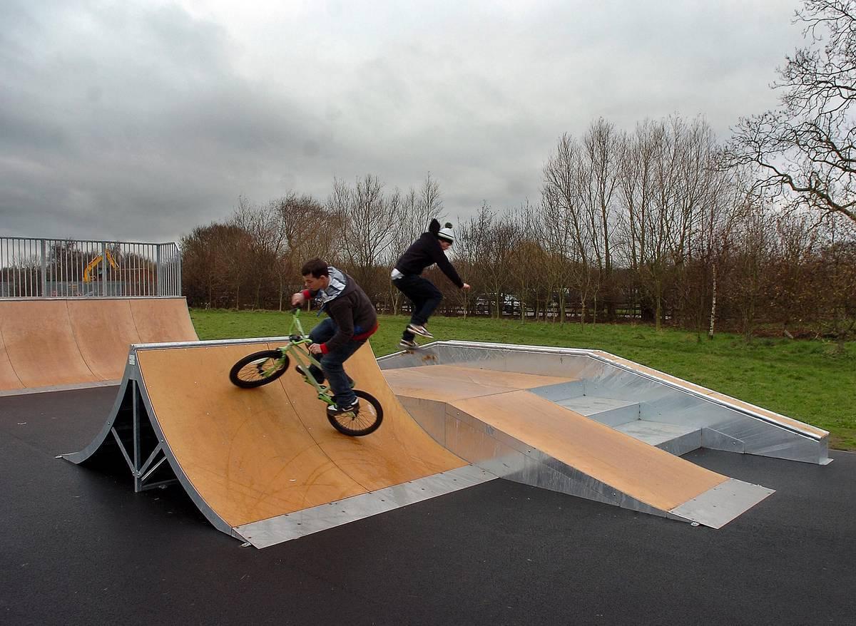 Bilbrook skatepark, west midlands