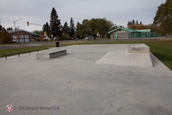 Ashley Park Skate Spot * Saskatoon SK