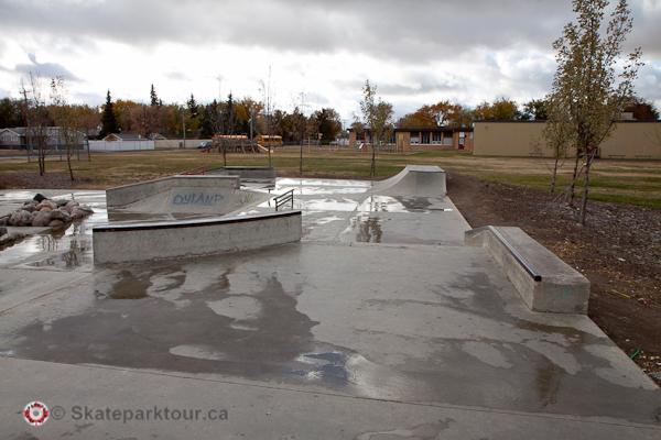 North Battleford Rotary Skatepark * North Battleford SK