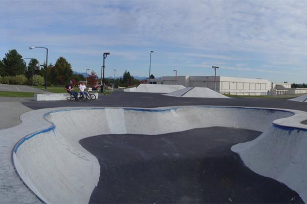 Aldergrove Skatepark * Aldergrove BC