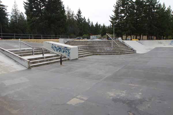 Brookswood Skateboard Park * Langley BC