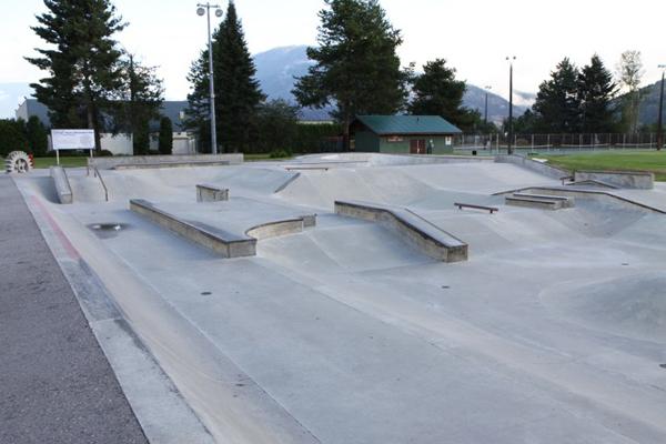 Castlegar Rotary Skatepark * Castlegar BC
