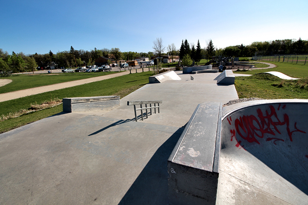 Fort Garry Skatepark * Winnipeg MB