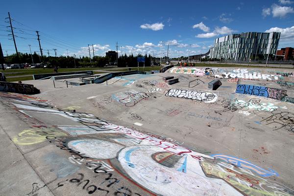 Legacy Skatepark * Nepean ON