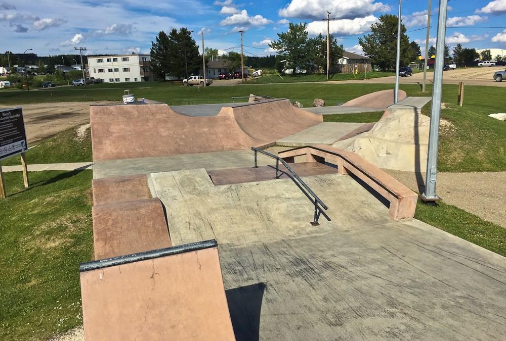 Swan Hills Skatepark * Swan Hills AB