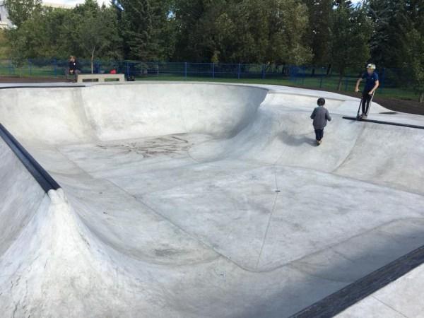 Muskoseepi skatepark Grande Prairie
