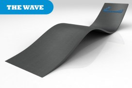 The wave skate ramp module is one of the modules available for councils and commercial organisations from Skateramps Australia