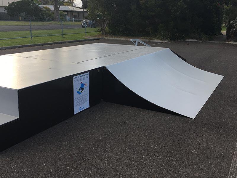 A mobile skate ramp (or portable skate ramp) built by Skateramps Australia