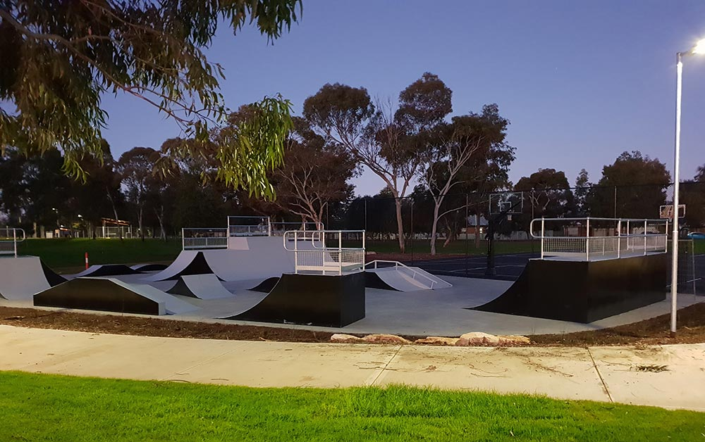 Skateramps Australia has more than 20 skate ramp modules available for local governments and commercial facilities.