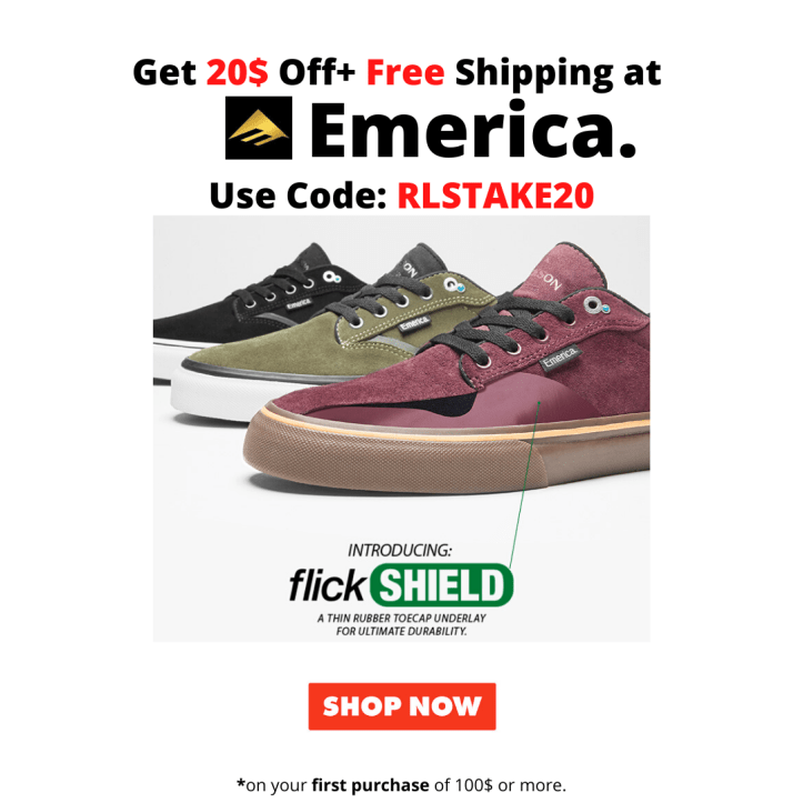 Emerica Footwear Offer