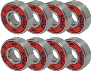 SCSK8 Natural Blank & Stained Complete Longboard tyres