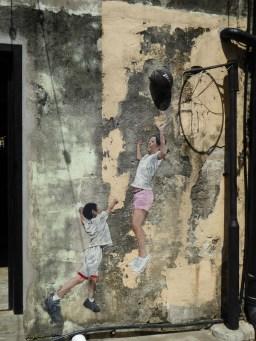 Children Playing Basket