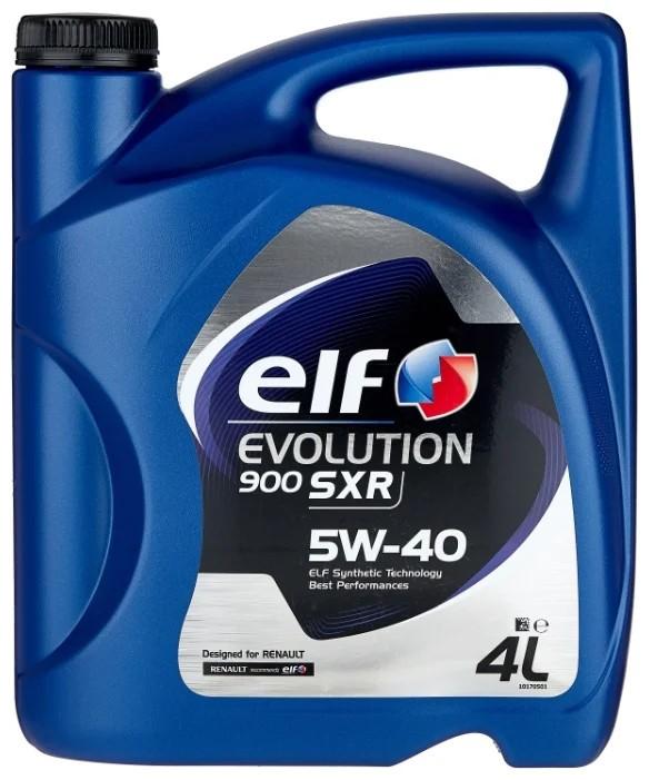 Масло моторное ELF EVOLUTION 900 SXR 5W-40 SN/CF A3/B4 синтетика 4л