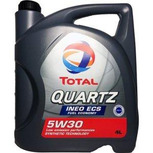Масло моторное Total QUARTZ INEO ECS 5W-30 C2 синтетика 4л