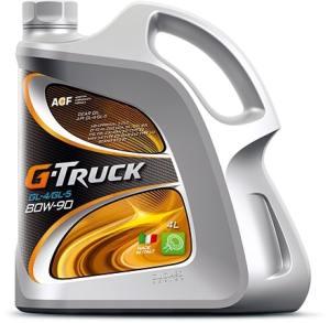 Масло трансмиссионное G-Truck 80W-90 GL-4/GL-5 локализованный 4л
