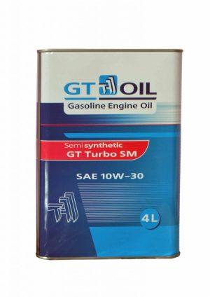 Масло моторное GT OIL TURBO SM 10W-30 SM/СF полусинтетика 4л