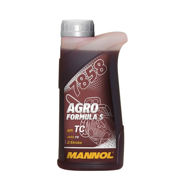 Масло двухтактное MANNOL 2-ТАКТ AGRO for STIHL ТС синтетика 1л