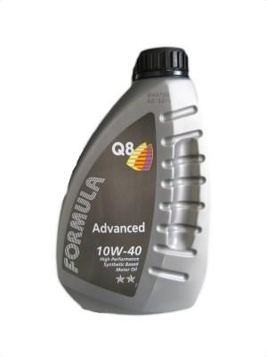 Масло моторное Q8 F Advanced 10W-40 SN/CF A3/B3/B4 полусинтетика 1л