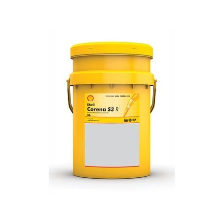 Масло компрессорное Shell CORENA S3 R46 ISO 6743-3A-DAJ 20л