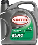 Масло моторное SINTEC EURO 15W-40 SJ/CF 5л