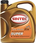 Масло моторное SINTEC Супер 10W-40 SG/CD полусинтетика 1л