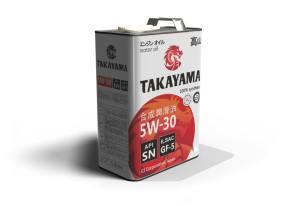 Масло моторное TAKAYAMA 5W-30 GF5/API SN синтетика 1л