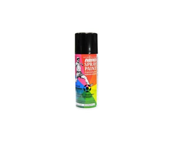 Краска-спрей ABRO 12 черная матовая 226г