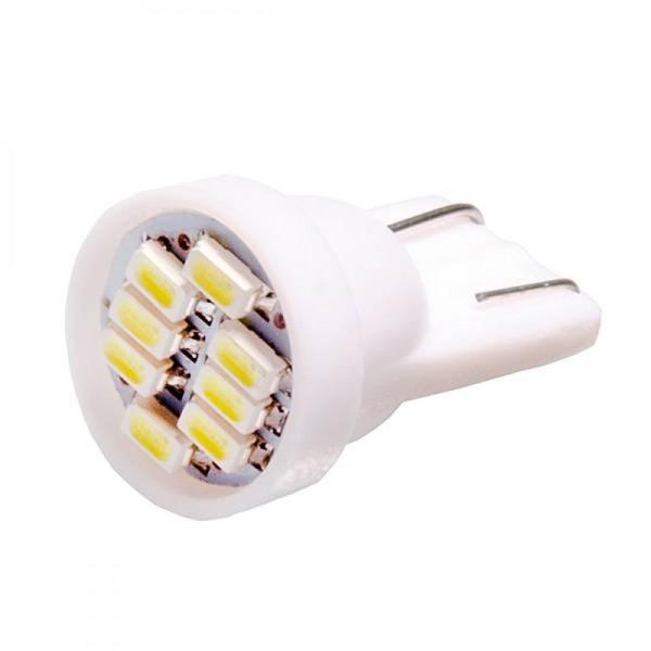 Автолампа светодиодная ДИАЛУЧ 92217 LED 8R 12V W21/5W 12V 21/5W W3x16q, белая