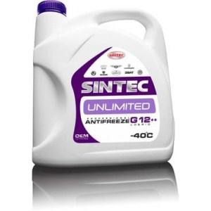 Антифриз SINTEC UNLIMITED G12++ 5кг