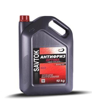 Антифриз SAVTOK OPTIMA G11 красный 10кг