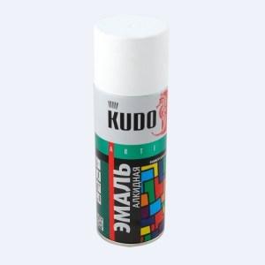 Эмаль KUDO KU-1101 белая матовая универсальная 520мл