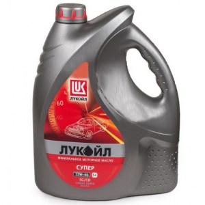 Масло моторное ЛУКОЙЛ Супер 15W-40 SG/CD 5л
