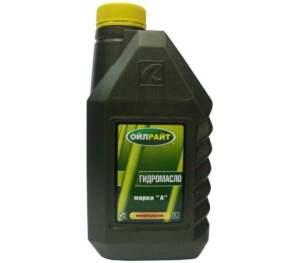 Масло гидравлическое ОЙЛРАЙТ Марка А 1л