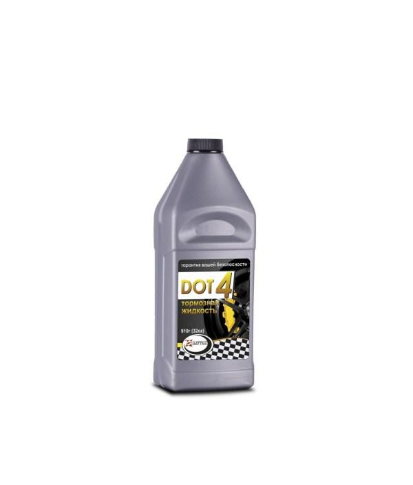 Тормозная жидкость SAVTOK DOT-4 серебро 910гр