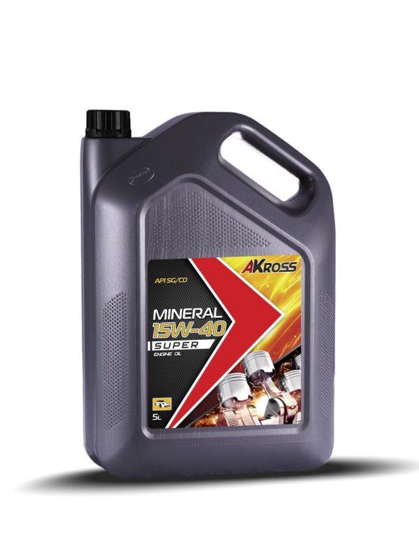 Масло моторное AKross SUPER 15W-40 SG/CD 5л