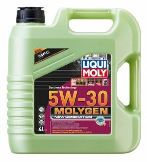 Масло моторное LIQUI MOLY Molygen New Generation DPF 5W-30 21225 синтетика 4л