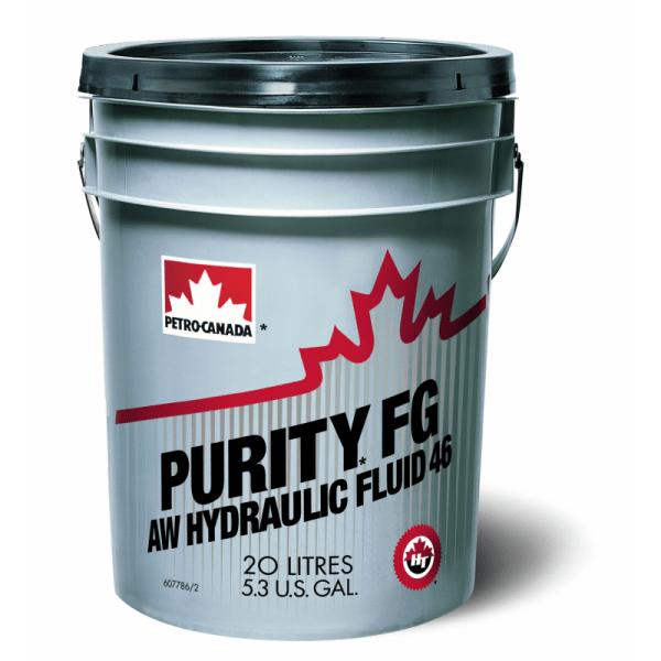 Масло гидравлическое PETRO-CANADA PURITY FG AW 46 20л