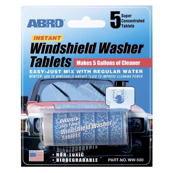 Таблетки для омывателя стекла ABRO упаковка 5табл