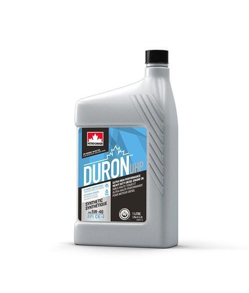 Масло дизельное PETRO-CANADA DURON UHP 5W-40 CL-4+ E9 полусинтетика 1л