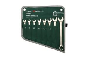Ключ комбинированный в сумке 8 шт.
