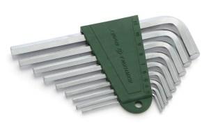 Набор ключей шестигранных  9 шт (3,4,5,6,7,8,9,10,12 мм)