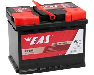 Аккумулятор автомобильный EAS PRIDE 60Ач 540А о/п