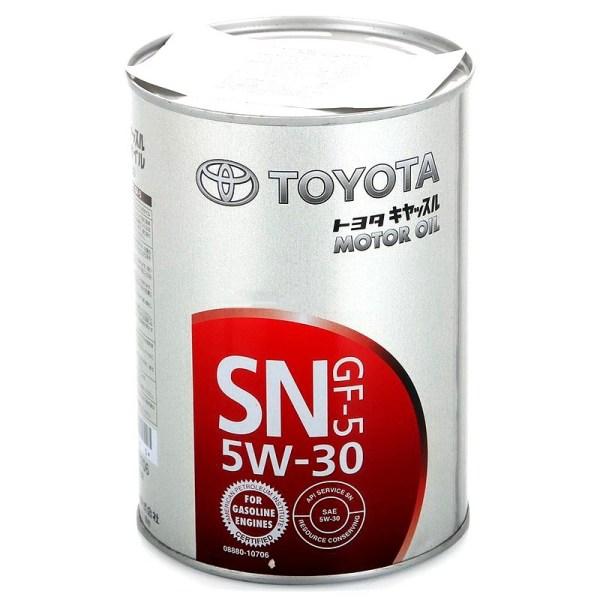 Масло моторное Toyota 5W-30 SN GF-5 1л