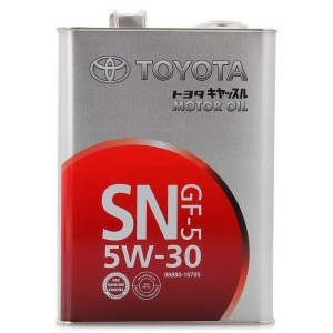 Масло моторное Toyota 5W-30 SN GF-5 4л
