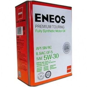 Масло моторное ENEOS Premium Touring 5W-30 SN 4л