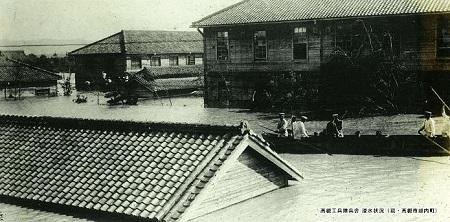 工兵隊と舟