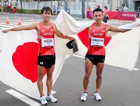 20km競歩銀メダル池田向希