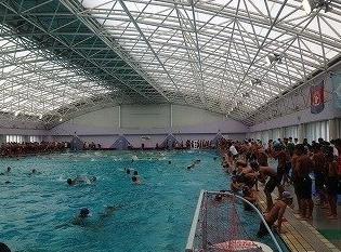 茨木高校プール