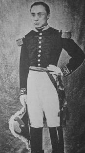 フランス製軍服の徳川慶喜